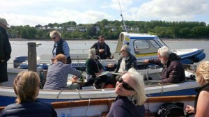 Dittisham Picnic Row